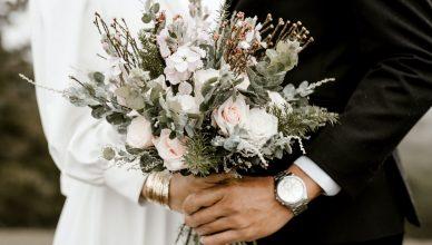 Flores em casamento